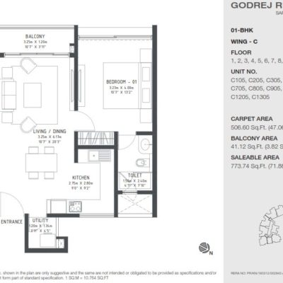 godrej-reflections-1bhk-plan