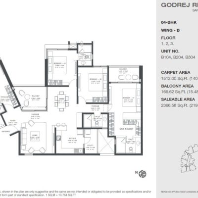 godrej-reflections-bangalore-floor-plan