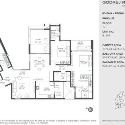 godrej-reflections-sarjapur-road-floor-plan